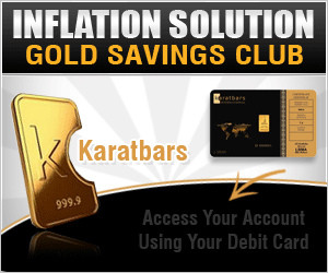 Gold savings plan